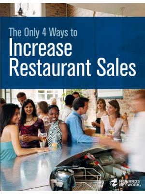 The Only 4 Ways to Increase Restaurant Sales