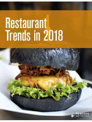 Restaurant Trends in 2018
