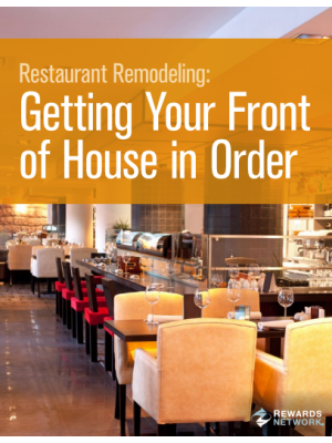 Restaurant Remodeling: Getting Your Front of House in Order