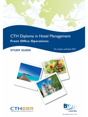 CTH Diploma in Hotal Management Front Office Operations