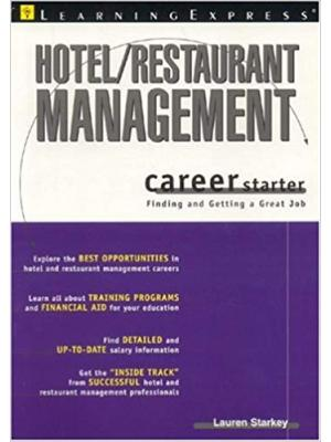 Hotel/ Restaurant Management Career Starter